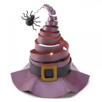 Gifts & Decor Wacky Witch Hat Candle Holder