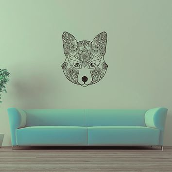 ik2943 Wall Decal Sticker animal fox living room bedroom