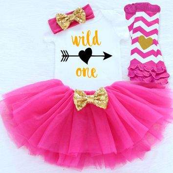 Wild One 1st Birthday Tutu Outfit