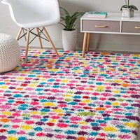 nuLOOM Allard Striped Shag Area Rug
