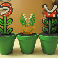 Super Mario Inspired Piranha Plant Sculpture (CHOOSE ONE)
