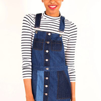 Penelope Denim Overall Dress