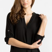 Valerie Black Blouse