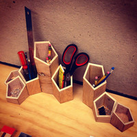 Building Hero Desk Organizer