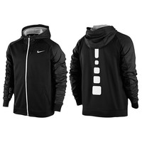 Nike Elite Stripe F/Z Performance Hoodie - Men's at Foot Locker