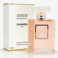 CHȂNEL Coco Mademoiselle Eau De Parfum spray For Women 3.4 OZ.