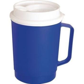 Patterson Medical 081565795 Extra Large Insulated Blue Mug