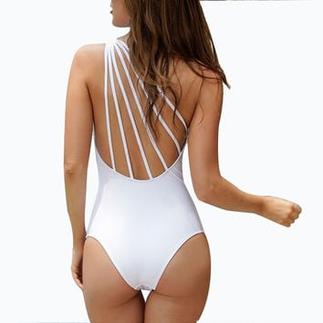 Vintage Retro One Piece Swimsuit Women Sport One-Piece Suits Departure Beach May Swimwear Female One Piece Sex Beachwear W1638-1