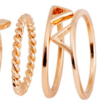 7-pack Rings - from H&M