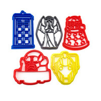 Doctor Who Cookie Cutter 5 Set