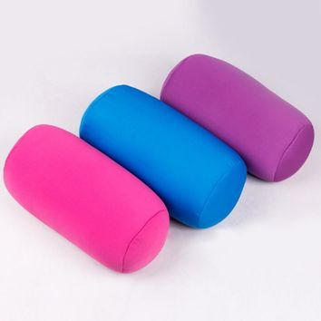 Microbead Back Cushion Roll Pillow