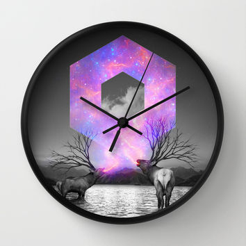 Made of Star Stuff Wall Clock by Soaring Anchor Designs