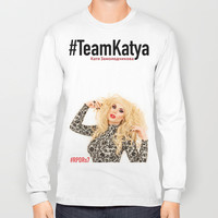 Katya Zamolodchikova Long Sleeve T-shirt by The Gay Psychic.