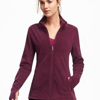 Go-Warm Performance Fleece Full-Zip Jacket for Women | Old Navy