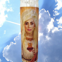 LADY GAGA CANDLE