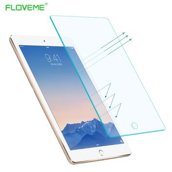FLOVEME Mini4 Tempered Reinforced Glass Screen Protector Case For iPad Mini 4 Clear Front Film With Retail Box