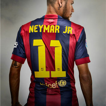 Neymar Poster Neymar JR Posters World Cup Wall Sticker Soccer Ball Wallpapers Canvas Prints Barcelona Football Stickers #1996#