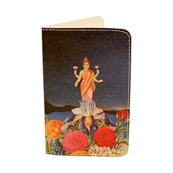 Flower Love Gift Holder Wallet by Jamila Starwater