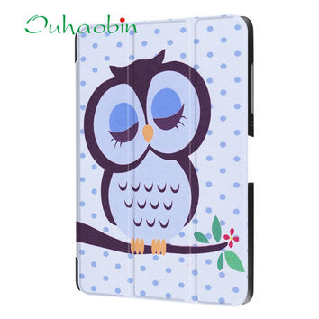 Ecosin  Case Cover Folding Stand Painted Leather Case Cover For Acer Iconia One 10 B3-A30 Tablet April13