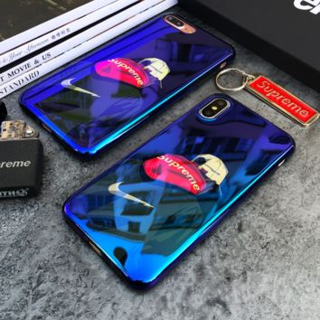 Cool Mirror Nike * Supreme Print Iphone X 8 8 Plus 7 7 Plus 5 5S SE 6 6s Plus Case