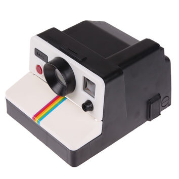High Quality Creative Retro Polaroid Camera Shape Inspired Tissue Boxes/ Toilet Roll Paper Holder Box Bathroom Accessories