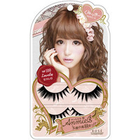 Kose Japan Anmiel Feather of Angel Makeup Eyelash Kit (2 pair) + Adhesive Glue