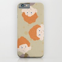 the triplets iPhone & iPod Case by Studiomarshallarts
