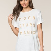 MOON STARS MAGIC REC TEE