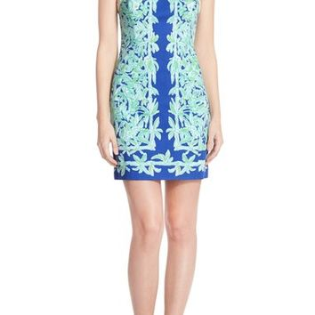 Lilly Pulitzer® 'Lea' Cotton Shift Sheath Dress | Nordstrom