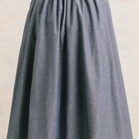 Dallas Weekend Chambray Midi Skirt