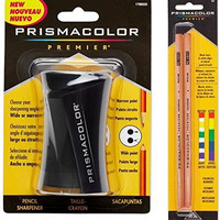 Prismacolor Blender Pencil Colorless (2 Piece) & Premier Pencil Sharpener