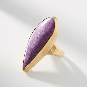 Lilac Stone Cocktail Ring