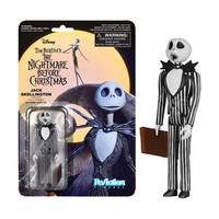 Nightmare Before Christmas Jack Skellington Surprised ReAction Action Figure