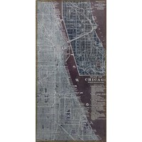 Antique Map of Chicago