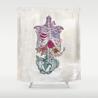 La Vita Nuova (The New Life) Shower Curtain by Rachel Caldwell