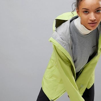 Patagonia Torrentshell Full Zip Hooded Jacket In Lime at asos.com
