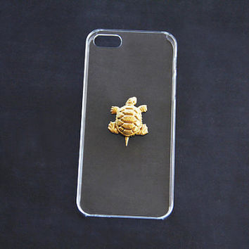 Gold Turtle Clear iPhone 5/5s/5c Case Clear iPhone 4/4s Transparent iPhone 5 5s Case Turtle iPhone 6 Plus Cover Gold Simple iPhone 6 Cute