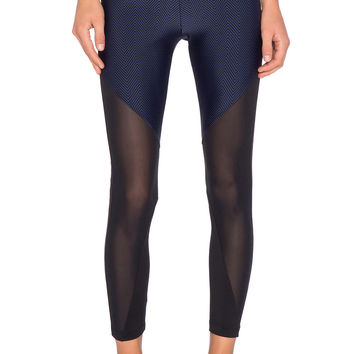 koral activewear Gi Lucent Legging in Navy & Black