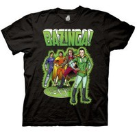 The Big Bang Theory Superhero Bazinga T-Shirt