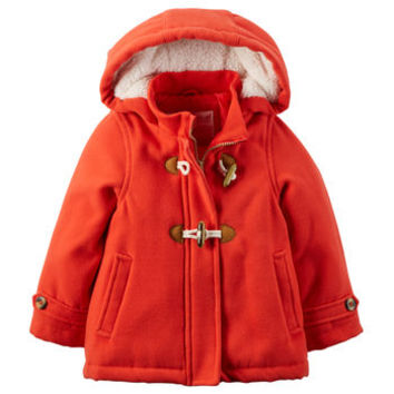 Carter's Faux Wool Toggle Coat