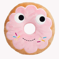 "Yummy 10"" Medium Plush Donut 