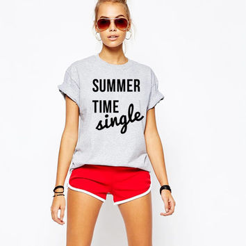 Summertime single unisex t-shirt
