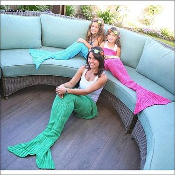 Soft Mermaid Blanket