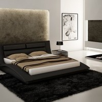 J&M Furniture Wave Bed - Opulentitems.com