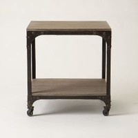 Decker End Table by Anthropologie in Grey Size: One Size Furniture