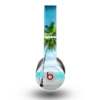 The Paradise Beach Palm Tree Skin for the Beats by Dre Original Solo-Solo HD Headphones