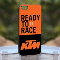 KTM Motard, Print on Hard Cover iPhone 5 Black Case
