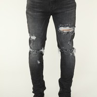 Pan Skinny Jeans - Black