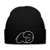 Elephant Contour Winter Hat