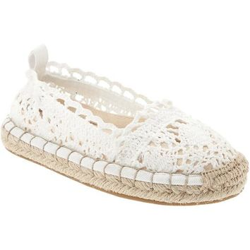 Espadrille Flats for Baby
